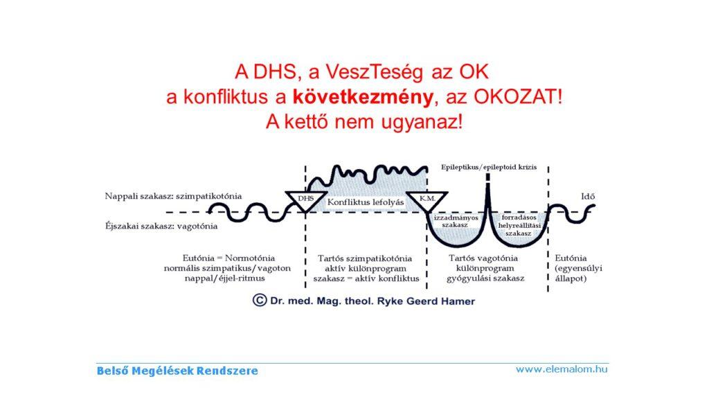 DHS - OK és OKOZAT