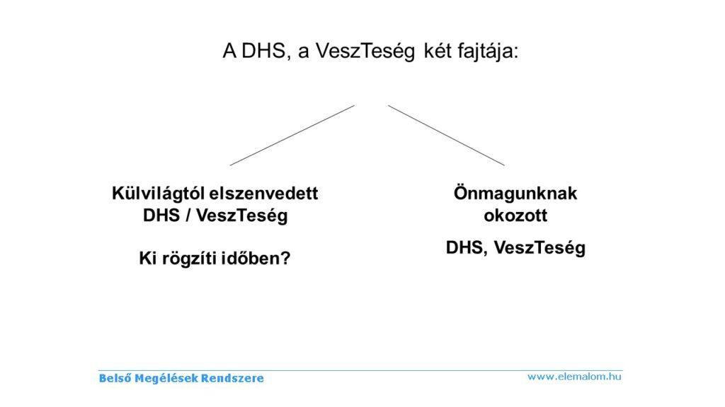 DHS két fajtája